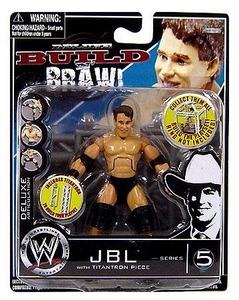 WWE Wrestling Build N' Brawl Series 5 Mini 4 Inch Action Figure JBL