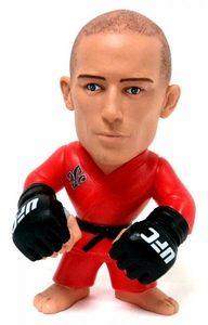 Round 5 UFC Titans Limited Edition Vinyl Action Figure Georges St. Pierre [Red Gi] Only 1,000 Made!