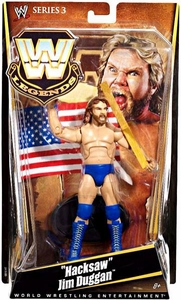 Mattel WWE Wrestling Legends Series 3 Action Figure Hacksaw Jim Duggan