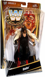 Mattel WWE Wrestling Legends Series 3 Action Figure Vader [Black Mask Variant]