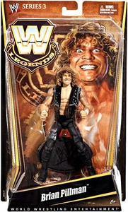 Mattel WWE Wrestling Legends Series 3 Action Figure Brian Pillman