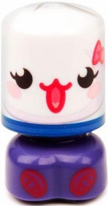 Moshi Monsters Bobble Bots Rare Figure #47 Kissy [100 Rox]