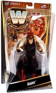 Mattel WWE Wrestling Legends Series 3 Action Figure Vader [Red Mask]
