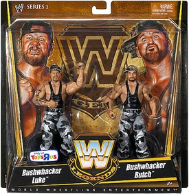 Mattel WWE Wrestling Exclusive Elite True Legends Action Figure 2-Pack Luke & Butch Bushwhackers