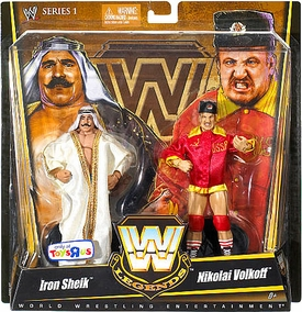 Mattel WWE Wrestling Exclusive Elite True Legends Action Figure 2-Pack Iron Sheik & Nikolai Volkoff