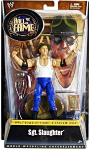 Mattel WWE Wrestling Legends Exclusive Hall of Fame Action Figure Sgt. Slaughter