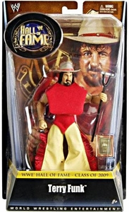 Mattel WWE Wrestling Legends Exclusive Hall of Fame Action Figure Terry Funk BLOWOUT SALE!