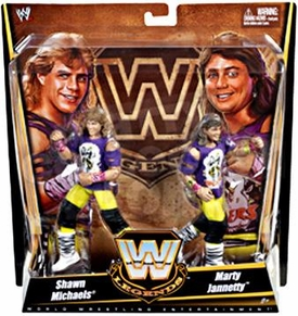 Mattel WWE Wrestling Exclusive Legends Action Figure 2-Pack The Rockers [Shawn Michaels & Marty Jannety]