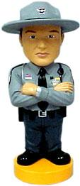 Bosley Bobber Bobbing Head Dolls Ohio State Trooper