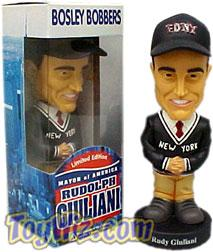 Bosley Bobber Retired Bobble Head Doll Rudy Giuliani BLOWOUT SALE!