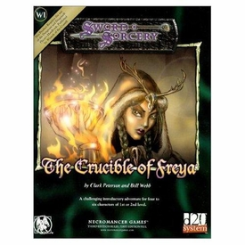 Sword & Sorcery The Crucible of Freya Roleplaying Softcover Book [Used Condition: Near Mint]