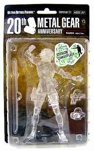 Metal Gear Solid Medicom 7 Inch Action Figure NY Comic Con 2008 Exclusive Collectible Figure Raiden [MGS2] [Stealth Camouflage Variant]