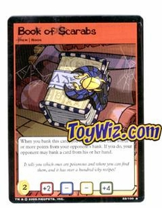 Neopets Trading Card Game Lost Desert Single Card Rare 22/100 Book of Scarabs