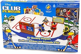 Disney Club Penguin Deluxe Playset Air Hockey Table Set