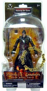Pirates of the Caribbean Dead Man's Chest Exclusive Action Figure Bootstrap Bill Turner