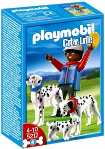 Playmobil Life In The City Set #5212 Dalmatians with Puppy
