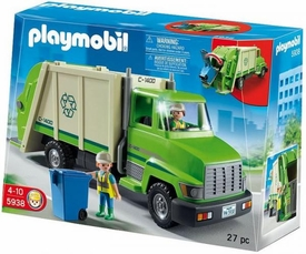 Playmobil Life In The City Set #5938 Recycling Truck