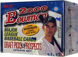 Baseball Bowman 2000 Draft Picks & Prospects Update Set [110 Cards + 1 Autograph]