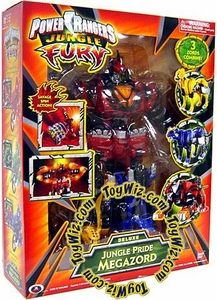 Power Rangers Jungle Fury Deluxe Jungle Pride Megazord