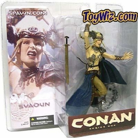 McFarlane Toys Conan the Barbarian Series 1 Action Figure Svadun Female Warrior 1
