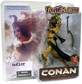 McFarlane Toys Conan the Barbarian Series 1 Action Figure Belit Stygien Priestess Female Warrior 2
