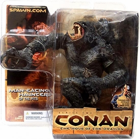 McFarlane Toys Conan the Barbarian Series 2 Action Figure Man-Eating Haunter of the Pits