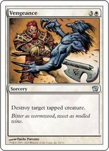 Magic the Gathering Ninth Edition Single Card Uncommon #2 Vengeance