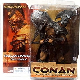 McFarlane Toys Conan the Barbarian Series 2 Action Figure Pallantides of the Black Dragon