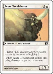 Magic the Gathering Ninth Edition Single Card Common #3 Aven Cloudchaser
