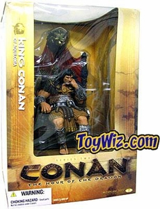McFarlane Toys Conan the Barbarian Series 2 Action Figure King Conan of Aquilonia Boxed Set