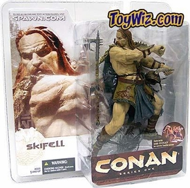 McFarlane Toys Conan the Barbarian Series 1 Action Figure Skifell Vanir Warrior