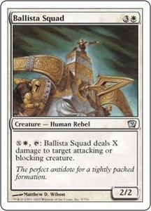 Magic the Gathering Ninth Edition Single Card Uncommon #5 Ballista Squad