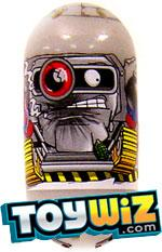 Mighty Beanz 2009 Series 1 Common Army Single #52 Bomb Disposal Bean