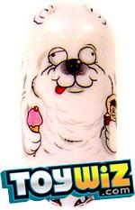 Mighty Beanz 2009 Series 1 Common Bear Single #48 Polar Bear Bean