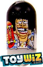 Mighty Beanz 2009 Series 1 Common Extreme Single #7 Skateboard Bean