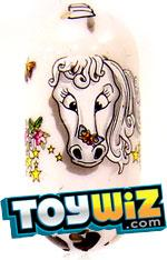 Mighty Beanz 2009 Series 1 Common Fantasy Single #86 Unicorn Bean