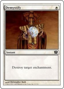 Magic the Gathering Ninth Edition Single Card Common #13 Demystify