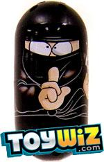 Mighty Beanz 2009 Series 1 Common Fight Club Single #1 Ninja Bean