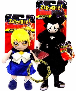 Zatch Bell Plush Figure Brago & Zatch Set