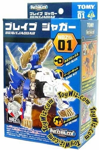 Zoids NEOBLOX Tomy Japanese Action Model Kit NBZ-01 Brave Jaguar