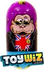 Mighty Beanz 2009 Series 1 Common Monkey Single #92 Punk Monkey Bean