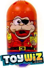 Mighty Beanz 2009 Series 1 Common Monkey Single #93 Pirate Monkey Bean