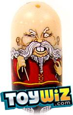 Mighty Beanz 2009 Series 1 Common Moustache Single #81 Fu Manchu Bean