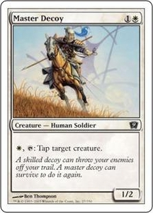 Magic the Gathering Ninth Edition Single Card Common #27 Master Decoy