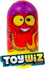 Mighty Beanz 2009 Series 1 Common Ocean Single #32 Octopus Bean