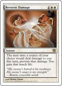 Magic the Gathering Ninth Edition Single Card Rare #35 Reverse Damage