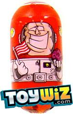 Mighty Beanz 2009 Series 1 Common Space Single #67 Astronaut Bean