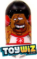 Mighty Beanz 2009 Series 1 Common Sportz Single #77 Basketball Bean