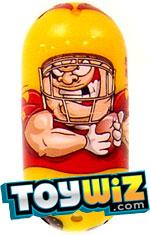 Mighty Beanz 2009 Series 1 Common Sportz Single #76 Football Bean