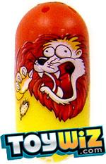 Mighty Beanz 2009 Series 1 Common Zoo Single #13 Lion Bean